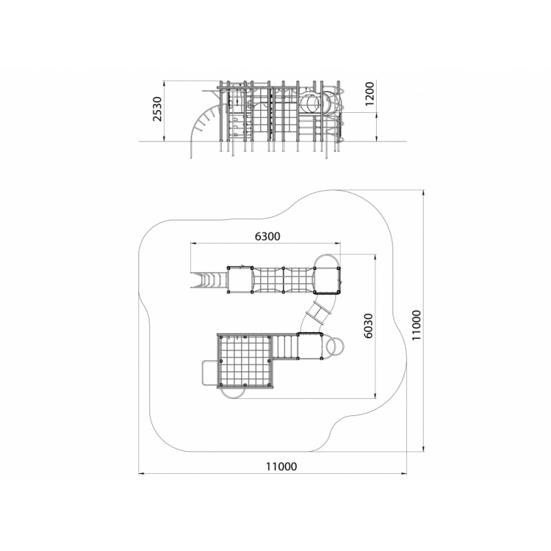 СО 1.022-К15 Спортивный комплекс Индиана Джонс