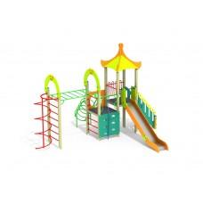 ДИК 1.251-16 Детский игровой комплекс Рукоход Пагода Н=1500
