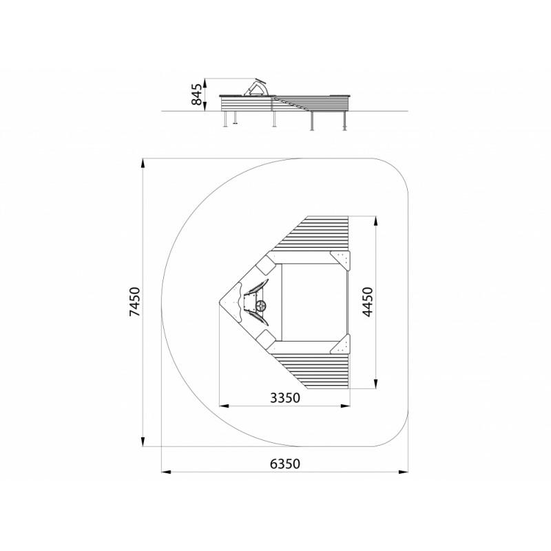 МФ 3.09 Песочница Стелс