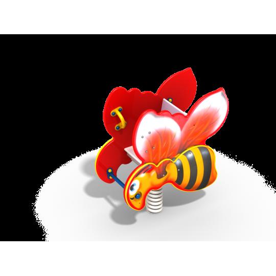 ДИО 4.111 Качалка на пружине Пчелка