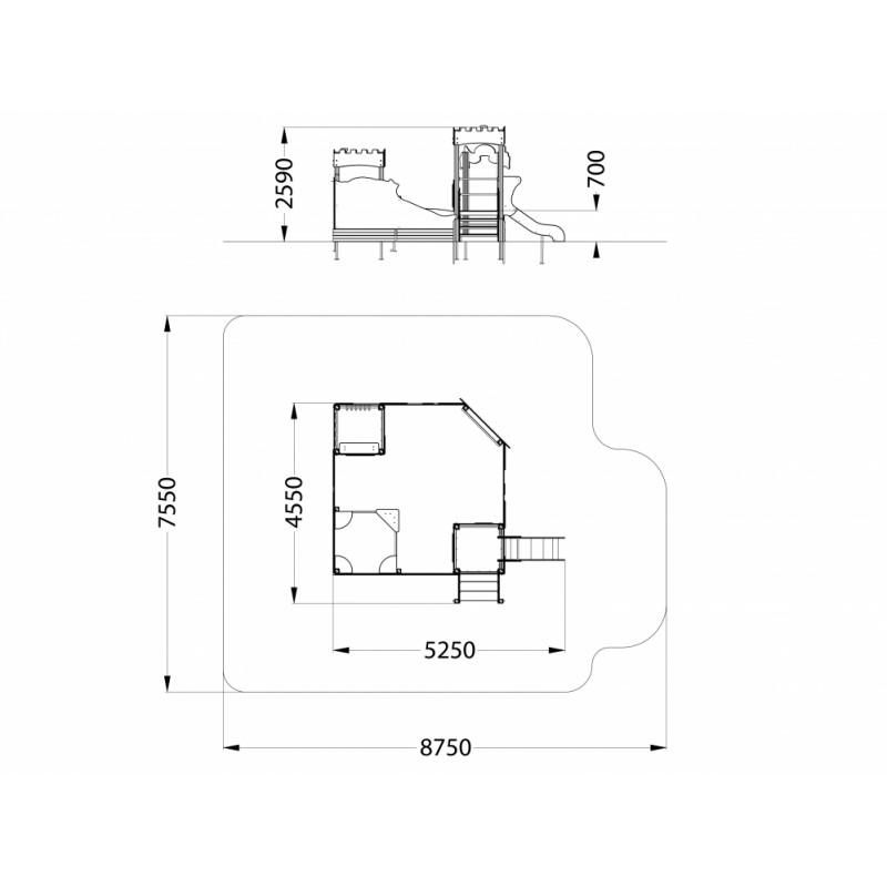 МФ 3.49 Песочный дворик Редут