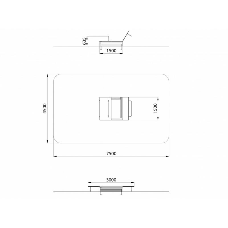 МФ 3.021-15 Песочница Распашная