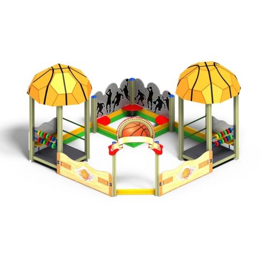 МФ 3.551 Песочный дворик Баскетбол без горки