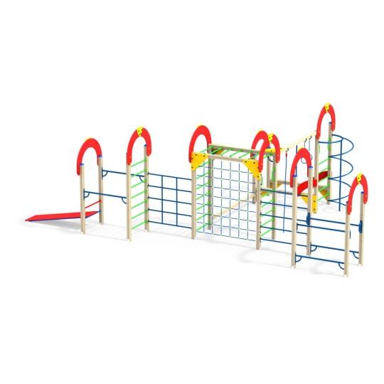 СО 1.63 Спортивный комплекс Рукоход с вертикальной сеткой