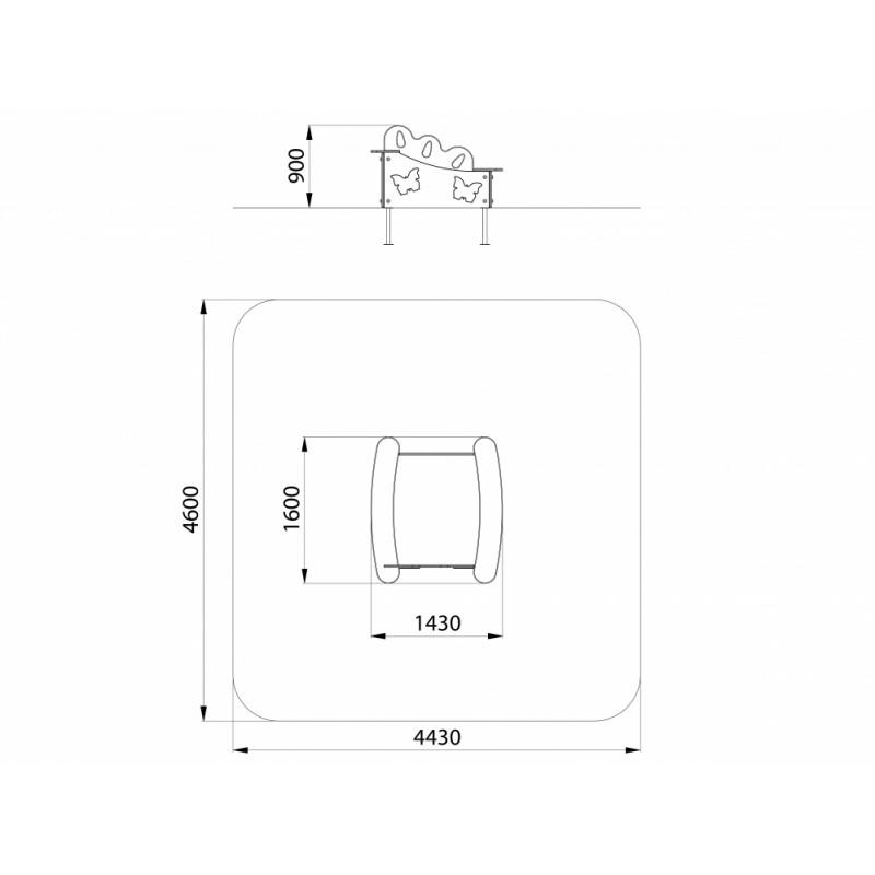 МФ 3.031 Песочница Солнечная полянка