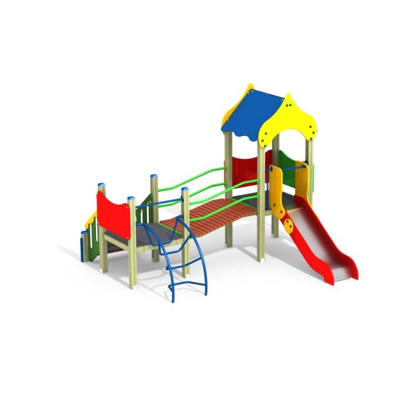 ДИК 2.08 Детский игровой комплекс Зодчий Н=900
