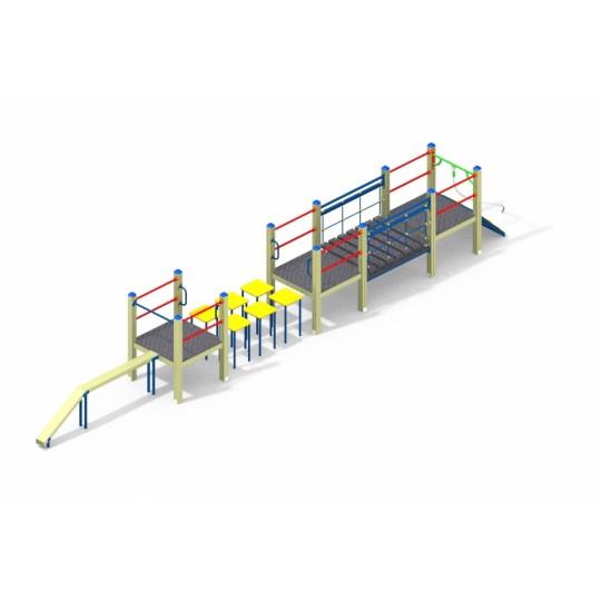 СО 1.025 Спортивный комплекс мостики и бревно