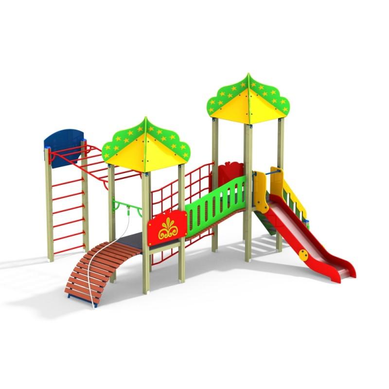 ДИК 2.23 Детский игровой комплекс Восточный спорт Н=1200
