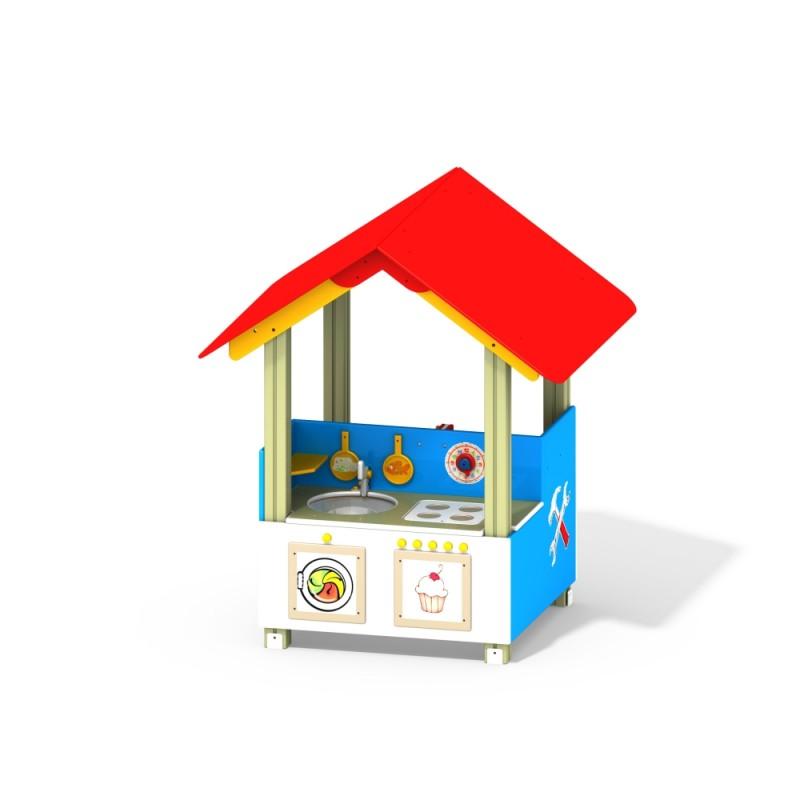 МФ 5.421 Игровой домик кухня с навесом
