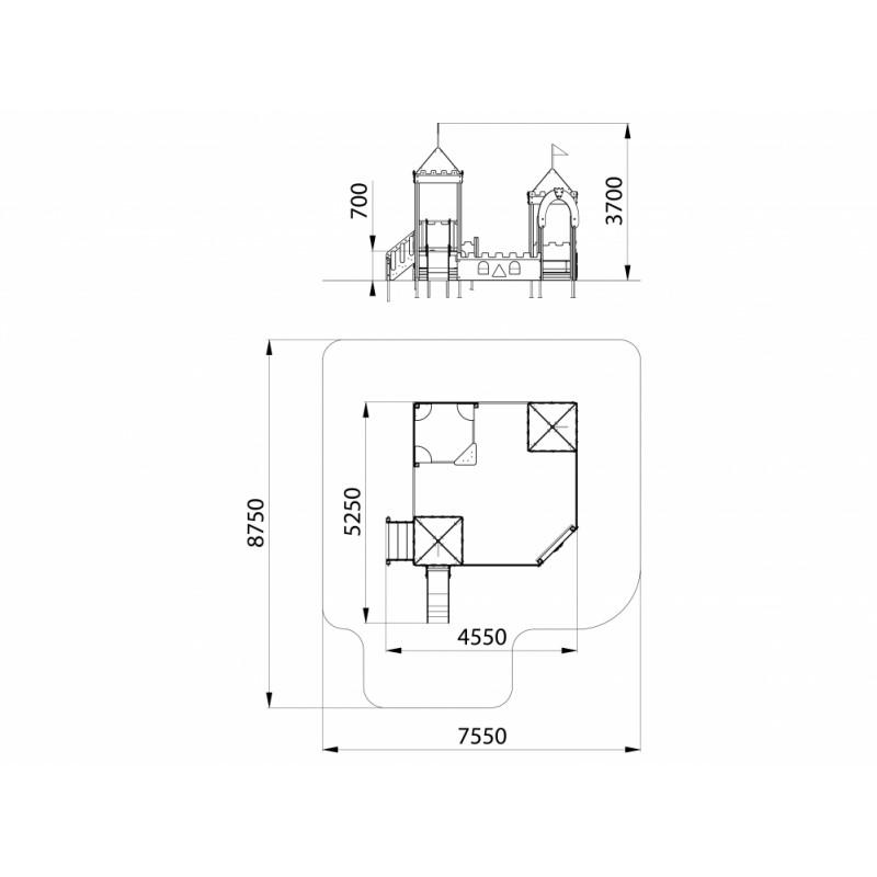 МФ 3.232 Песочный дворик ДПС