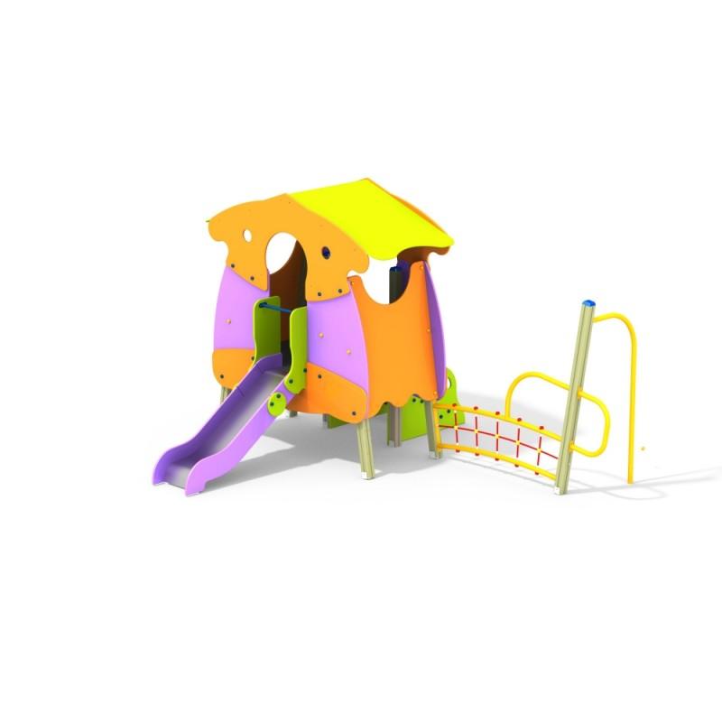 ДИК 1.37 Детский игровой комплекс Избушка Гнома Н=900