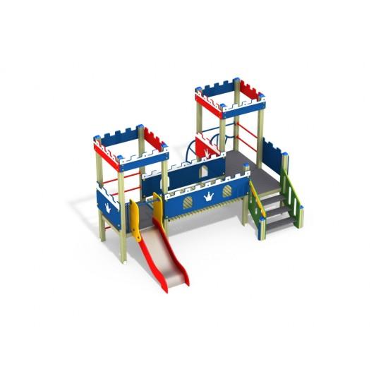 ДИК 2.33 Детский игровой комплекс Бастион Н=700