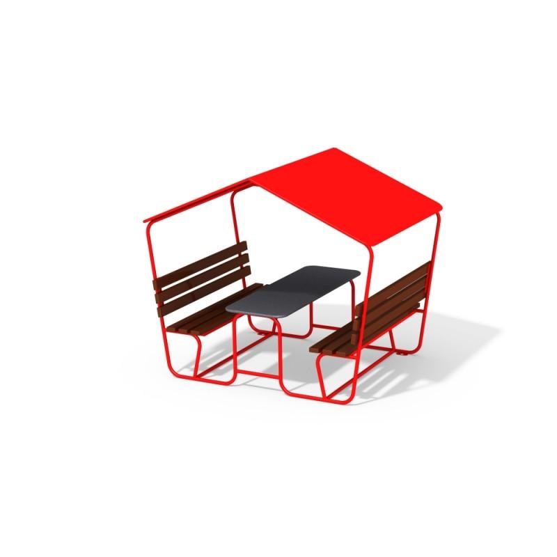 МФ 2.051 Столик с навесом