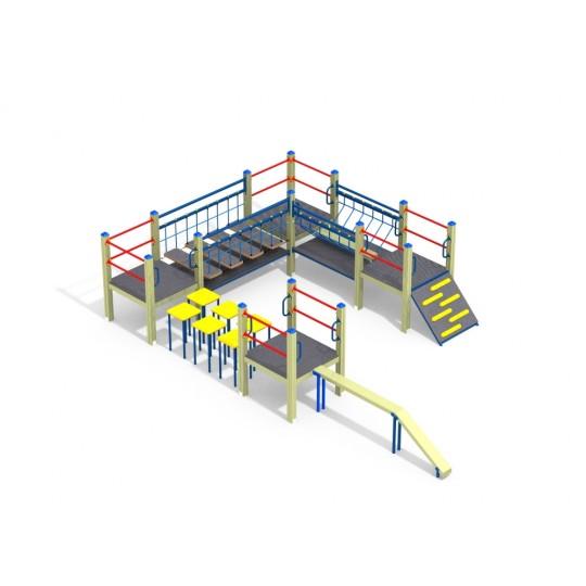 СО 1.024 Спортивный комплекс мостики и бревна