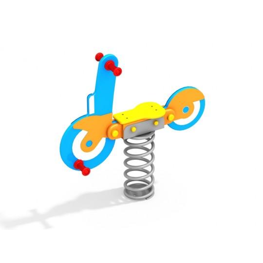 ДИО 4.604 Качалка на пружине мотоцикл