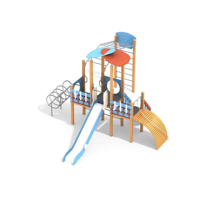 ДИК 3.051-с26/8,32 Детский игровой комплекс Развитие Эко Н=1500 мм
