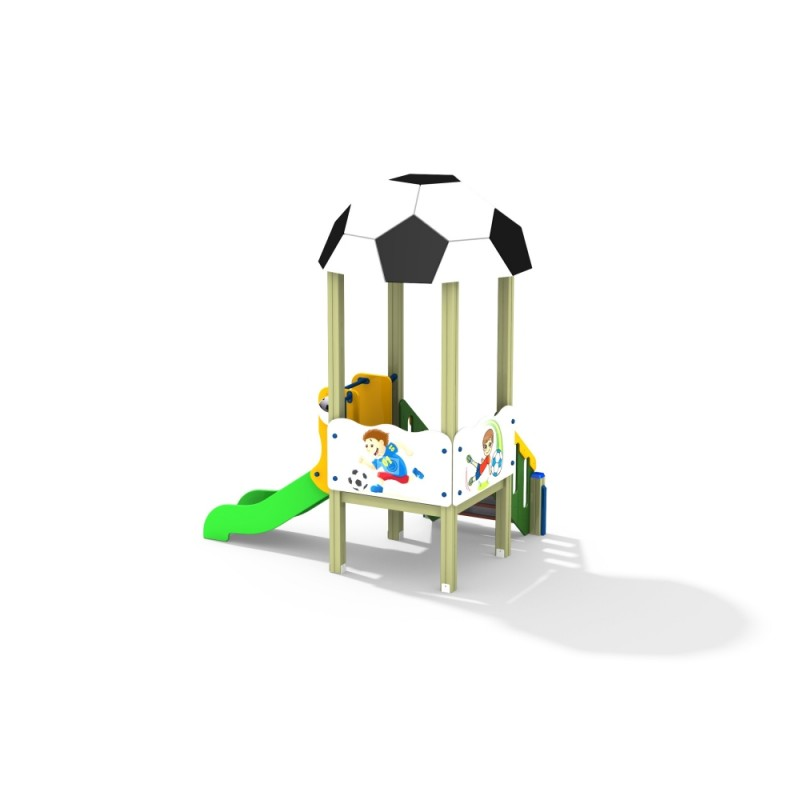 ДИК 1.096 Детский игровой комплекс Футбол малый Н=700