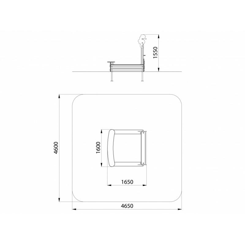МФ 3.033 Песочница Аквариум