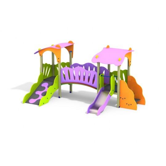 ДИК 2.45 Детский игровой комплекс Сказка Гном Мини Н=700