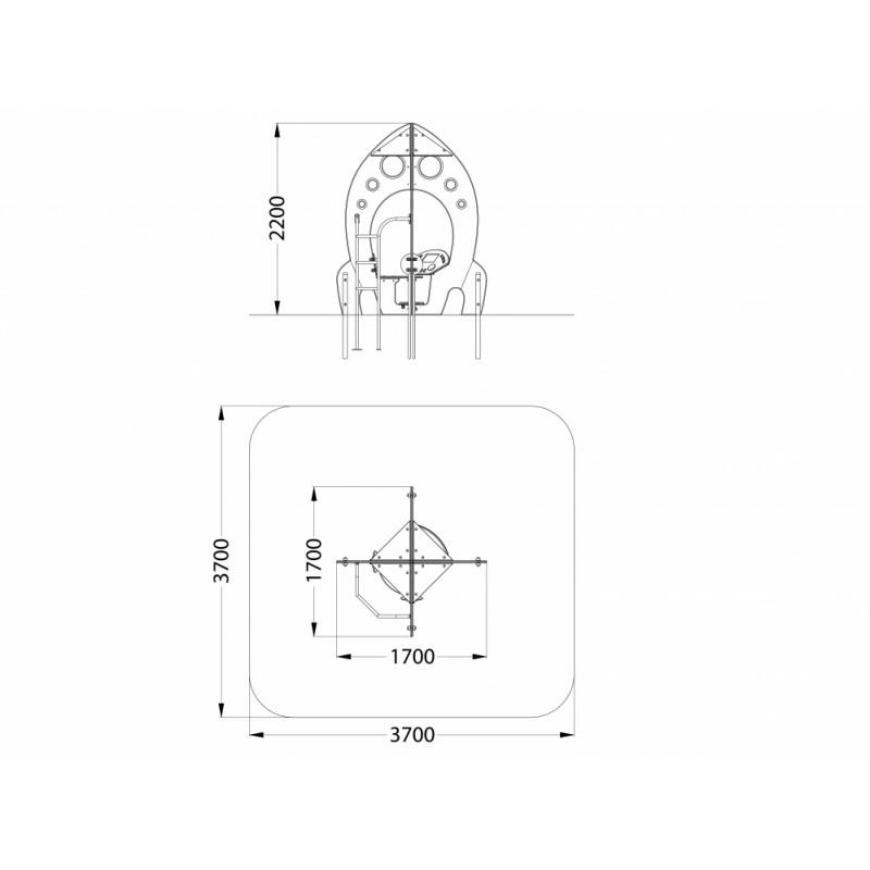 МФ 4.23 Столик Ракета