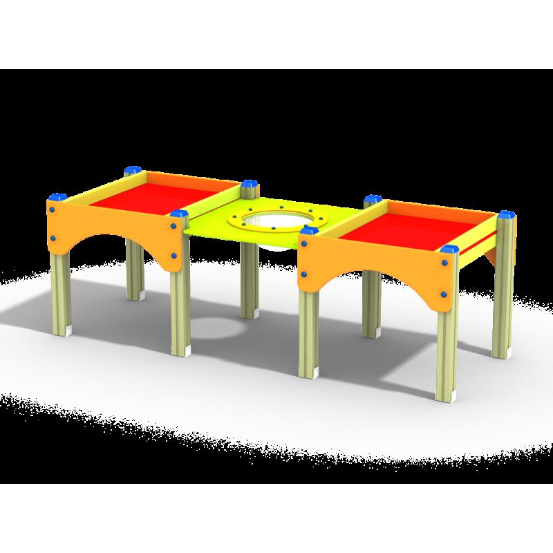 МФ 3.502 Стол-песочница двойная высокая