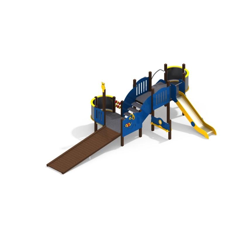 ДИК 3.245 Детский игровой комплекс Н=1200