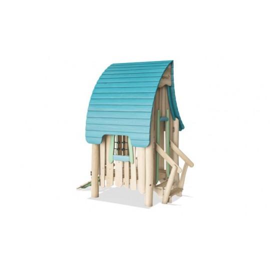 МФ 8.701.01 Домик из дерева с волнообразной крышей