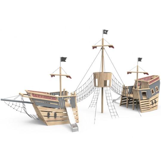ДП 4.125 Корабль пиратов супер большой