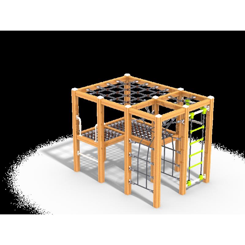 УК 7.401.01 Спортивно игровой комплекс с сетками нерж