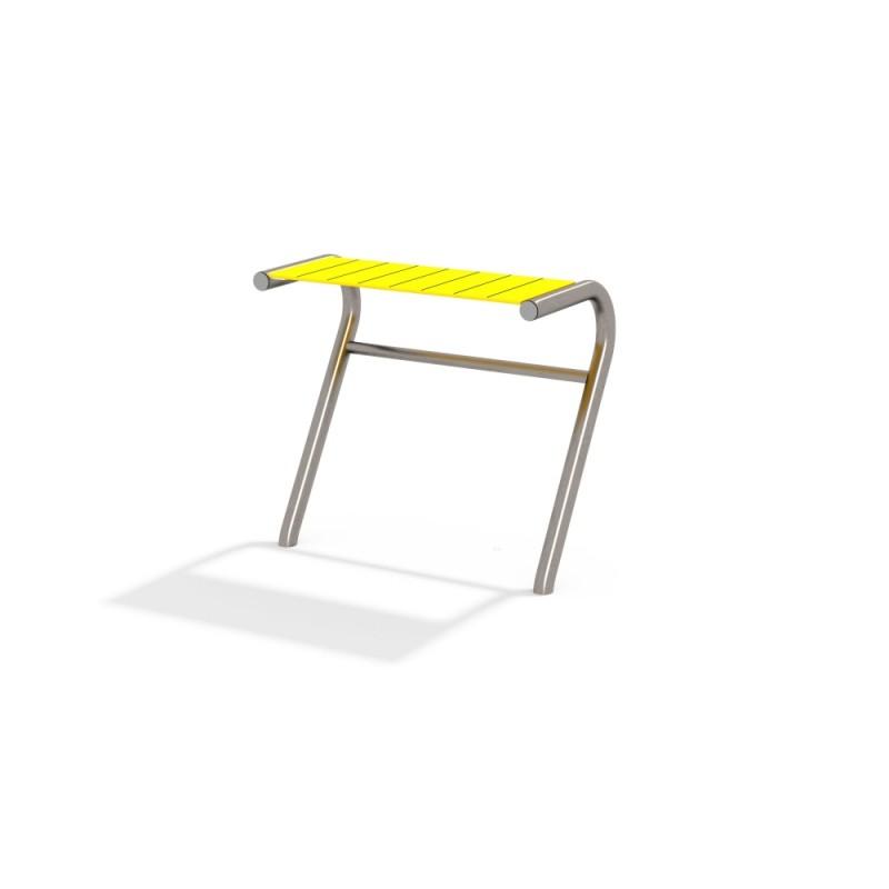 МФ 2.301.01 Столик радуга прямой нерж