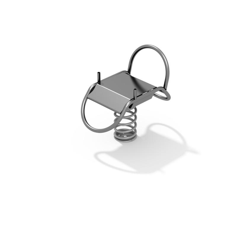 ДИО 4.55.01 Качалка нержавеющая на пружине Платформа нерж
