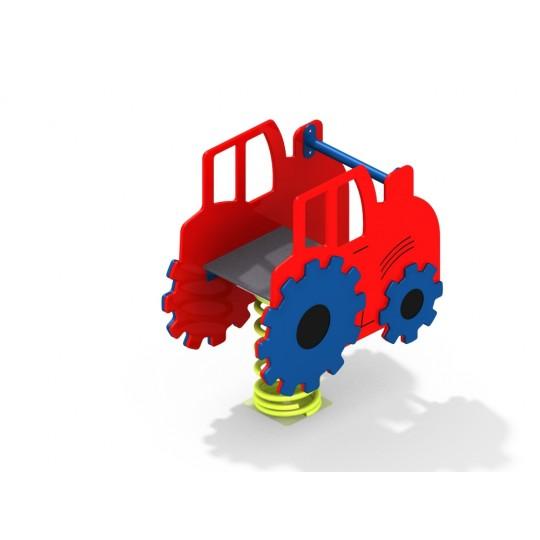 ДИО 4.656.11 Трактор на пружине цинк
