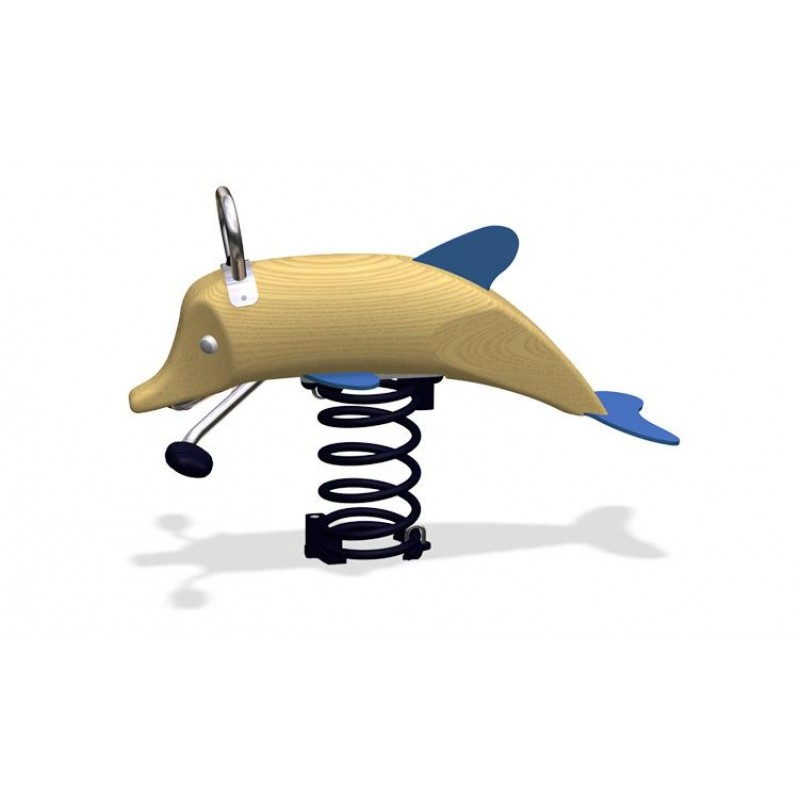 ДИО 4.692.01 Качалка на пружине Дельфин нерж