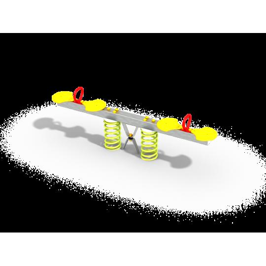 ДИО 3.30.11 Качалка балансир на пружинках цинк