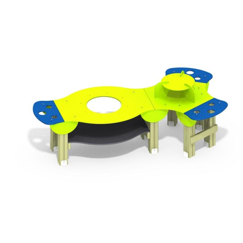 МФ 8.201.01 Столик для игры с песком нерж