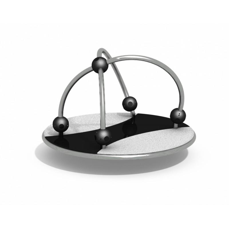 ДИО 2.32.01 Карусель платформа с шарами нерж