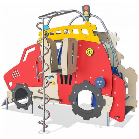МФ 8.104.11 Домик двухстороний трактор и избушка цинк